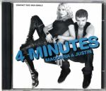 4 MINUTES - USA 6 TRACK CD SINGLE